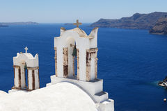 La Grecia, viste di Santorini Fotografie Stock