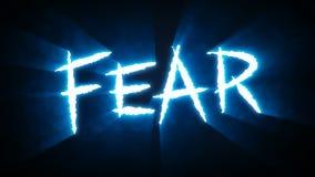 La griffe réduit le bleu de crainte illustration libre de droits