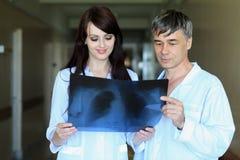 La gripe diagnostica Imagen de archivo libre de regalías