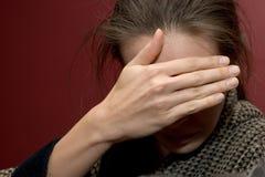 La grippe. Images libres de droits