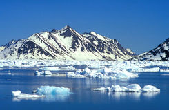La Groenlandia Ammassalik Fotografie Stock