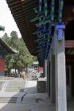 La gronda cinese di stile architettonico di Shaolin Temple fotografia stock libera da diritti