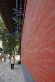 La gronda cinese di stile architettonico di Shaolin Temple immagini stock