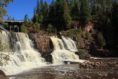 La grosella espinosa cae cascada Minnesota Fotos de archivo