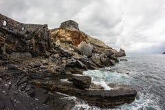 La Grotta二拜伦勋爵 免版税库存图片
