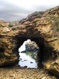LA GROTTA - PORTO CAMPBELL, GRANDE STRADA DELL'OCEANO, AUSTRALIA Fotografia Stock Libera da Diritti