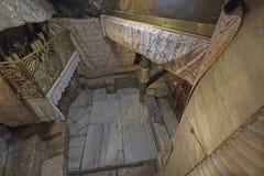 La grotte de lait dans l'église de la nativité Photos libres de droits