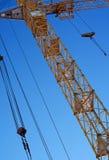 La gru della costruzione Fotografia Stock Libera da Diritti