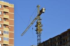 La gru a torre Fotografie Stock Libere da Diritti