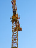La grue de construction Photo stock