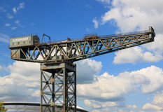 La grue de Finnieston photo stock