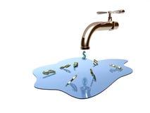 La grue de l'eau Image libre de droits