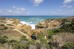 La gruta, gran camino del océano, Australia Fotografía de archivo libre de regalías
