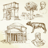 La Grèce antique illustration stock