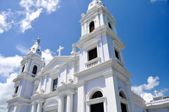 La Guadalupe cathedral, Ponce (Puerto Rico) stock image