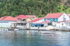 La Guadeloupe, beau paysage marin images libres de droits