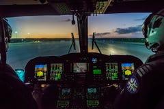 La guardia costiera caraibica olandese Fotografia Stock