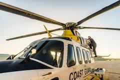 La guardia costiera caraibica olandese Immagini Stock