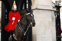 La guardia di cavallo Fotografie Stock Libere da Diritti