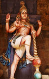 La guardia di Lord Shiva Fotografia Stock