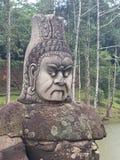 La guardia dura del tempio immagini stock libere da diritti