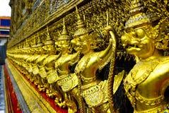 La guarnición del garuda de oro Fotografía de archivo