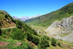 La Guarrinza Aiguestortes Pyrenees Mountains Stock Photos