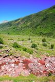 La Guarrinza Aiguestortes Pyrenees Mountains Stock Image