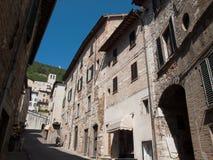 La Gubbio-Italie Image stock