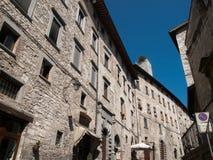 La Gubbio-Italie Photographie stock libre de droits