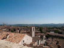 La Gubbio-Italie Photos stock