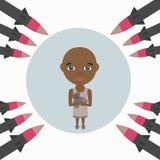 La guerra contra el niño y la familia libre illustration