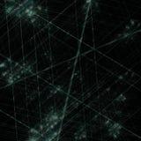 La guerra del laser, frattale ha generato il fondo Immagini Stock
