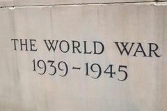 La guerra mundial Imagen de archivo