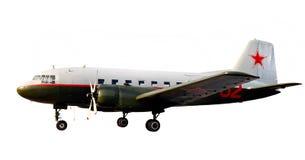 La guerra mundial prestar-arrienda el aeroplano dc-3 li-2 imagen de archivo