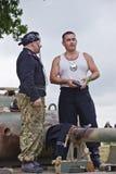 La guerra y la paz muestran 2011 Imágenes de archivo libres de regalías