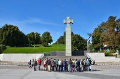 La Guerre d'Indépendance Victory Column photos stock