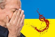La guerre en Ukraine Images stock