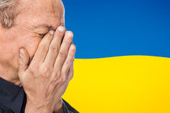 La guerre en Ukraine Images libres de droits