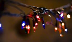 La guirlande décore les vacances image libre de droits