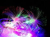 La guirnalda crea una atmósfera festiva del Año Nuevo Fotografía de archivo libre de regalías