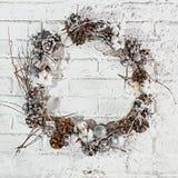La guirnalda de la Navidad Imagen de archivo libre de regalías