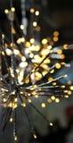 La guirnalda de las luces LED de Brights protagoniza el copo de nieve Fotografía de archivo libre de regalías