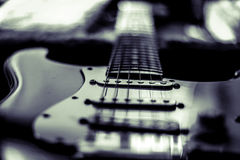La guitare Photographie stock