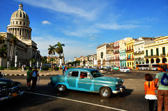 LA HABANA, CUBA - 15 DE DICIEMBRE DE 2014 Fotos de archivo libres de regalías