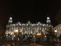 La La Habana de Gran Teatro de Fotografía de archivo libre de regalías