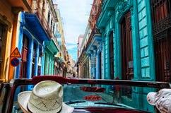 La Habana en todo su color Imágenes de archivo libres de regalías