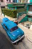 La Habana. Iconic old american car in La Habana, Cuba Royalty Free Stock Images