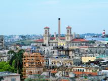 La Habana vieja fotografía de archivo