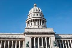La Habana vieja con el capitolio, Cuba 2013 Fotos de archivo libres de regalías